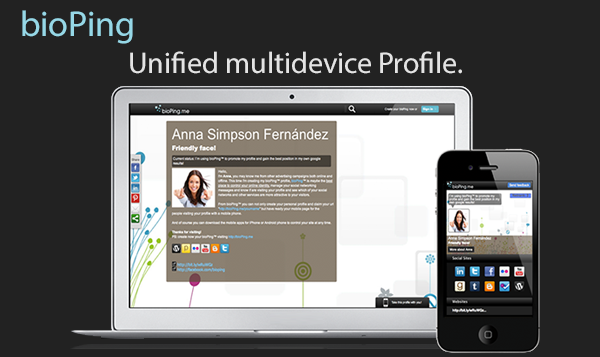 Your personalized responsive page ready for both computer and mobile devices.